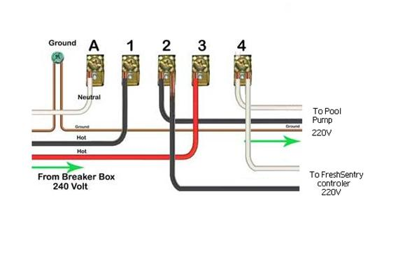 wiring a 220 timer  wiring  free engine image for user